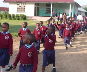 SchülerInnen der St. Ignatius Primary School